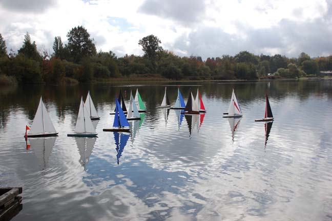 rc sailboat competition