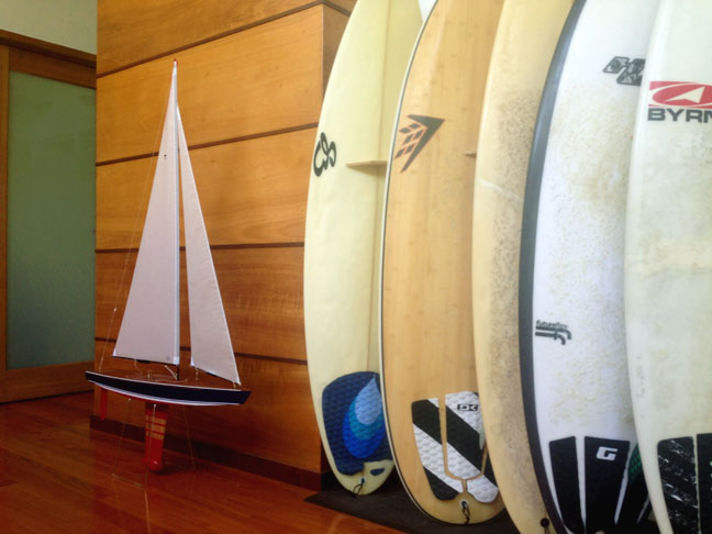 T-37 and surfboards