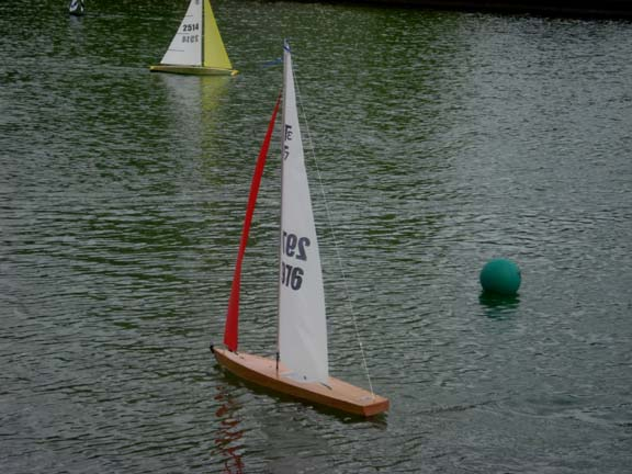 wooden rc boat