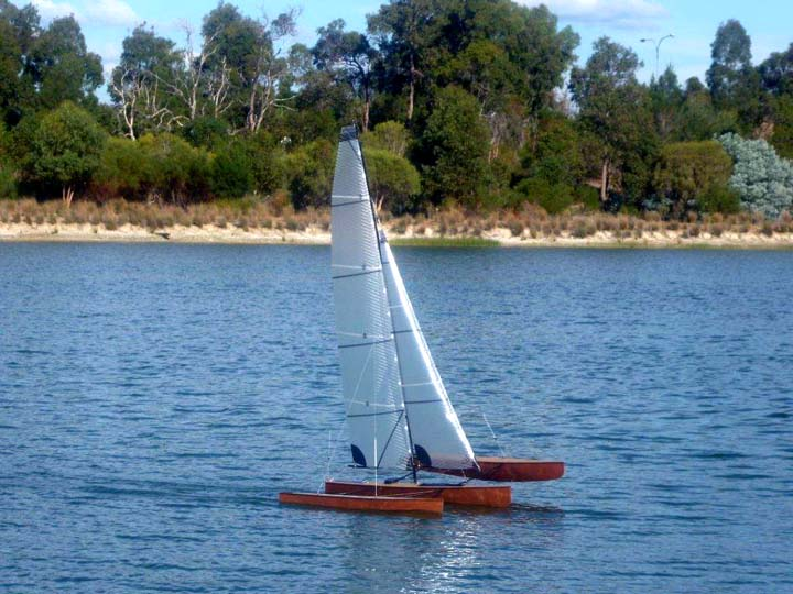 Radio Controled model sail boat