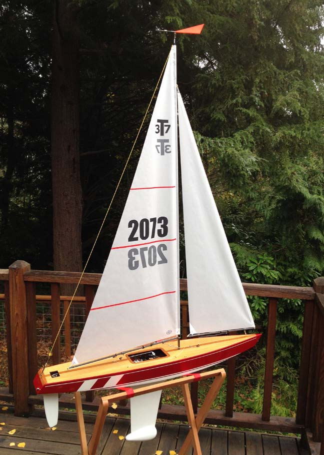 remote controlled model sailboat seattle
