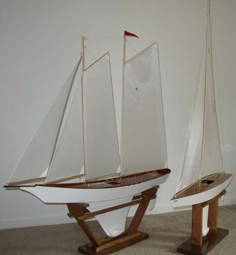 remote controlled model sailboats