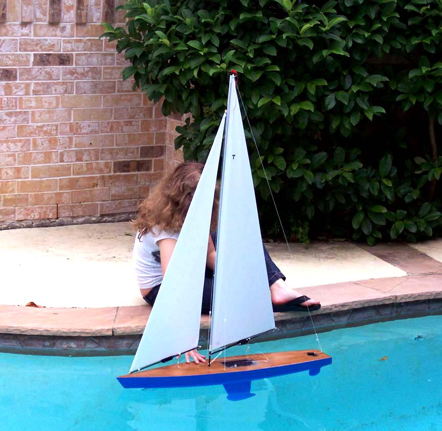 rc model toy sail boat