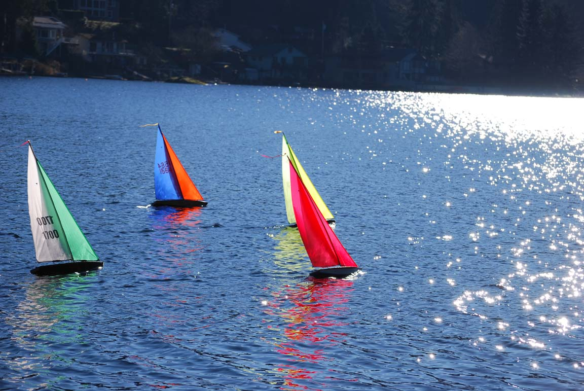 rc sailing model boat