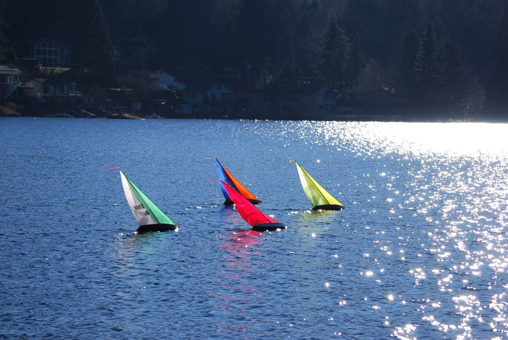 T37 RC sailboats