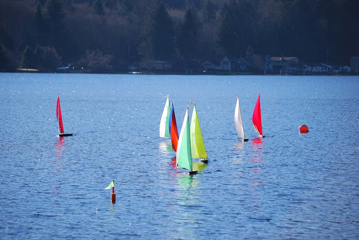 racing radio controlled sailboats