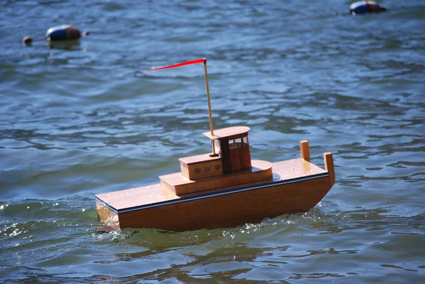 rc tugboat for radio control