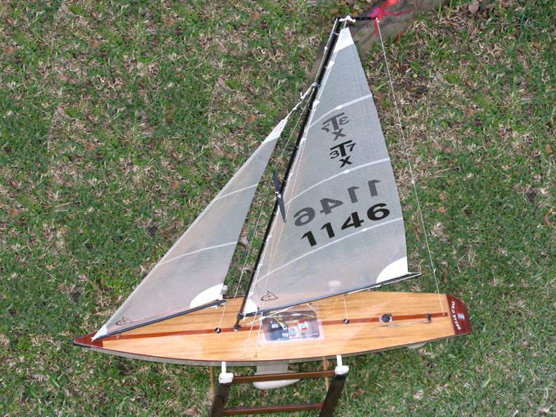 model rc sailboat