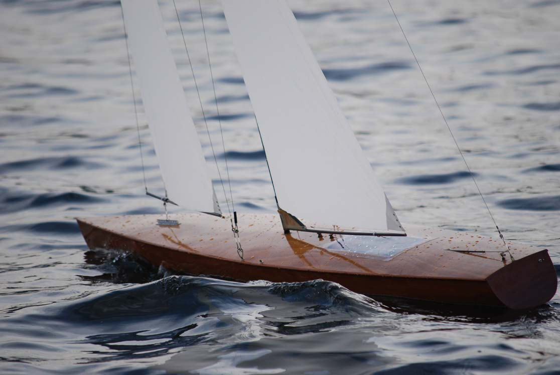classic rc sailboat