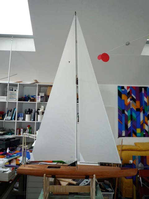 wooden sailboat toy